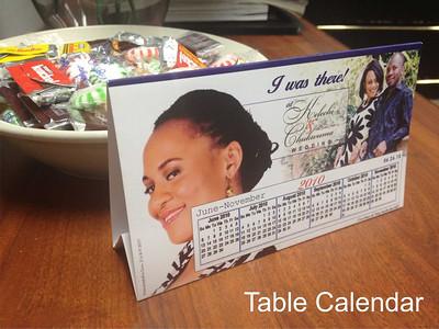 Table Celendar