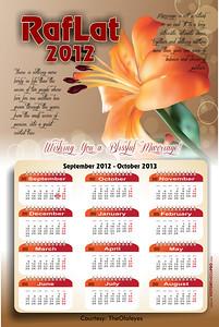 RafLat 2012 Calendar 2