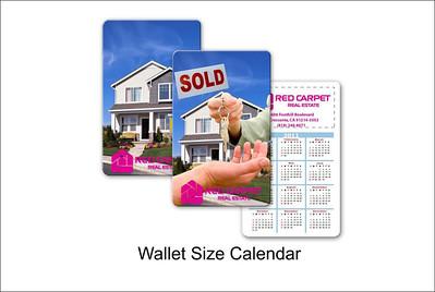 Wallet Size Calendar
