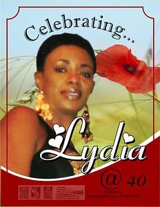 Lydia Wine Label