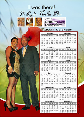 Lydia Mag Calendar