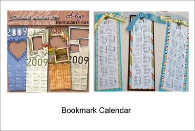 Bookmark Calendar