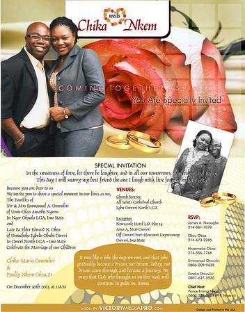 Chika and Nkem Wedding Invite Email Version2