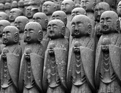 Stone Monks, Japan