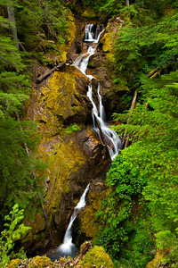 Eastside Trail Waterfall, Mount Rainier