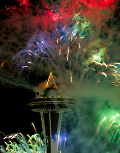 Happy New Year!! Seattle, WA