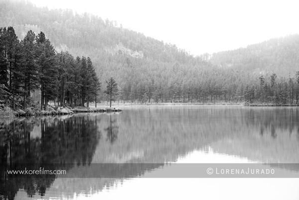 Beautiful reflection in South Dakota during my road trip in 2011.  Photo by Lorena Jurado