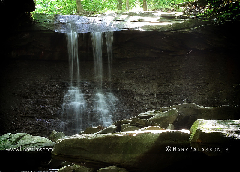 Photograph by Mary Palaskonis<br /> <br /> Blue Hen Falls - Cuyahoga Valley National Park, Ohio