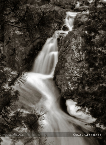 Photograph by Mary Palaskonis  Copper Falls State Park, Wisconsin