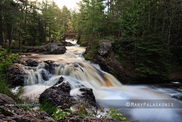 Photo by Mary Palaskonis  Amnicon Falls State Park, Wisconsin