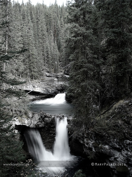 Photo by Mary Palaskonis<br /> <br /> Thompson Canyon, Banff