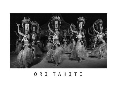 Ori Tahiti - 60 x 80 cm - 24 x 31½ Inches