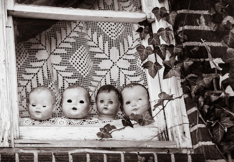 Gretchen Faulk Faces at the Window