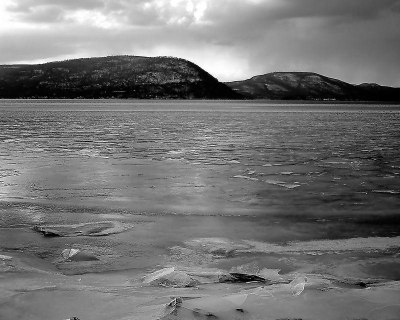Frozen Peekskill Bay