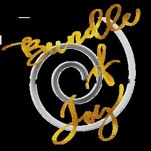 Bundle of Joy Gold Faux Foil Metallic Motivational Quote