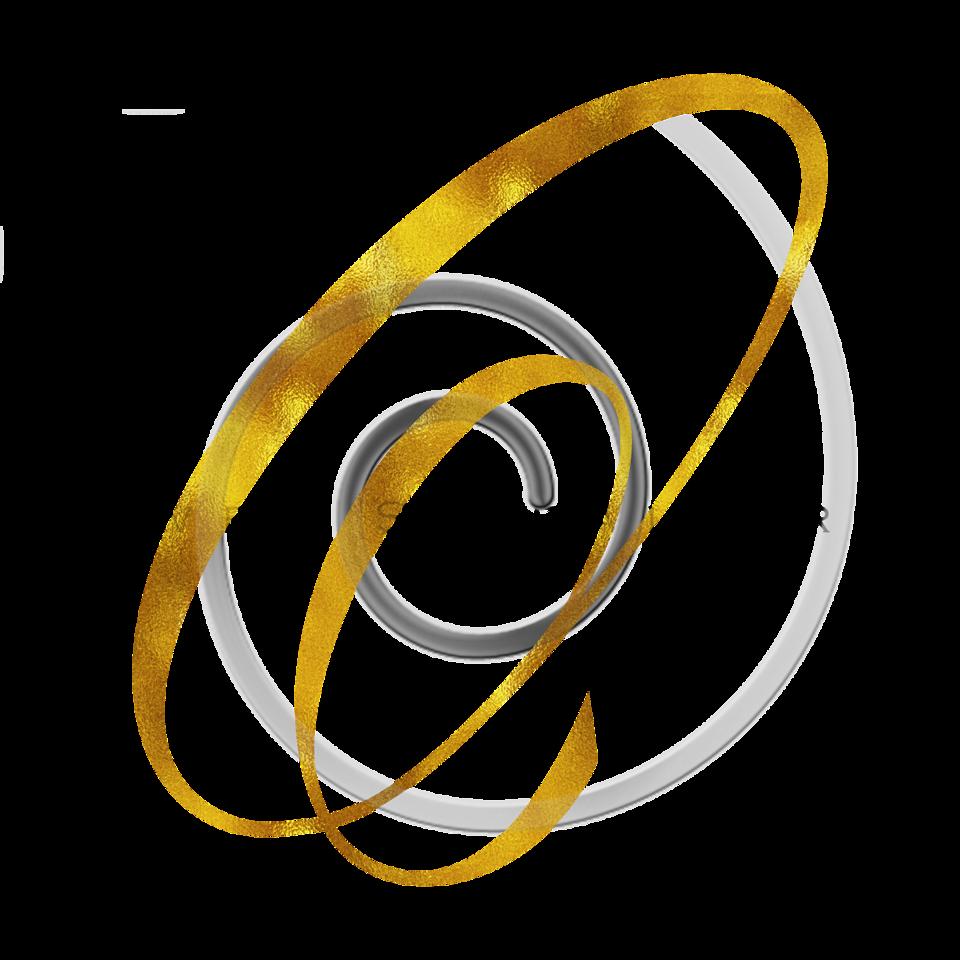 Monogram O Gold Faux Foil Monograms Metallic Initials