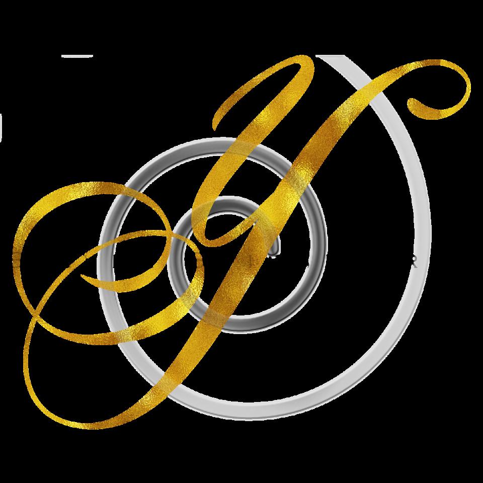 Monogram Y Gold Faux Foil Monograms Metallic Initials