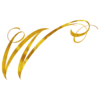 Monogram W Gold Faux Foil Monograms Metallic Initials