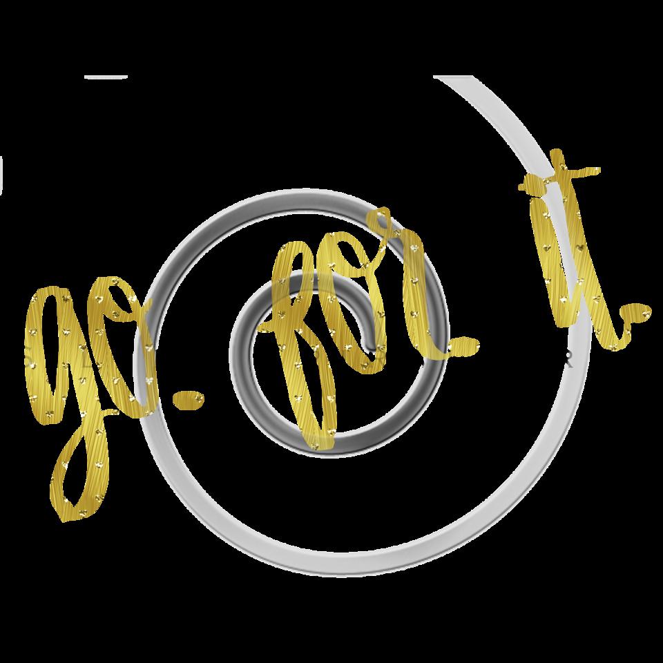 Go For It Quote Gold Faux Foil Motivational Quotes