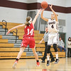 Mackenzie Strait puts up a jump shot Wednesday, Jan. 11 against Red Jacket.