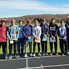 The Watkins Glen boys have a picture taken at Marathon. Included are: head coach John Fazzary, Aaron Planty, Clint Craven, Max Evans, Sean Holland, Sam Thorsland, Gabe Planty, Conlin Wysocki and assistant coach Rod Weeden. PHOTO PROVIDED
