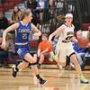Sara Gardner drives to the basket Friday, Jan. 27.