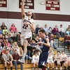 Wylie Hall makes a layup on a fast break last Friday.