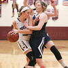 Olivia Grover goes to the basket Friday, Feb. 24 against Elmira Notre Dame.