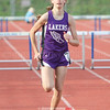 Aubrie Cole runs for Hammondsport in the 400 meter hurdles event.