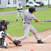 Damon Empson bats for Dundee in the Thursday, May 11 game against Whitman.