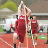Sam Richards tied for first in the pole vault at Dundee, Monday, May 15. File Photo