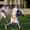 Penn Yan Mustangs against Akron at St. John Fisher College.