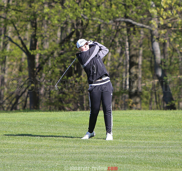 Odessa's Gillian Clark competed at the New York State Public High School Athletic Association golf championships. File photo