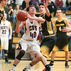 Austin Brace looks up to shoot in the game against South Seneca last Thursday.