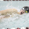 Brett Walters swims in the 50 free, which he won last week.