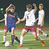 Watkins' Avery Watson works against Odessa's Devon Mahaney, Wednesday, Oct. 3.