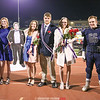 The Watkins Glen homecoming court included: Jacob Asbury, Kathryn Losey, H. Nathaniel Rose (cardboard cutout in his absence), Grace Wickham, King Nathaniel Wickham, Queen Claudia Parker, Wyatt Brower and Jillian Kilcoyne.