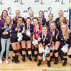 The winning Hammondsport volleyball team has a photo taken at Geneseo, Saturday, Nov. 3. PHOTO PROVIDED