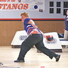 Jon Mashewske bowls for Penn Yan last Wednesday.