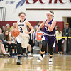 Hannah Morse drives to the basket last week.