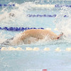 Watkins Glen's Nathaniel Wickham advances to the finish of the 50 free, last week.
