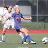 Hayley Andersen makes a pass for Penn Yan in the game against Romulus last week.