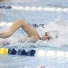 Allie Gibson swims for Watkins Glen, Friday, Sept. 21.