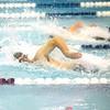 Nathaniel Wickham swims for Watkins Glen last week against Odessa.