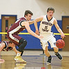 Joe Chedzoy charges forward on a fast break, Friday, Dec. 21.