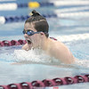Bailey Hornbrook placed first in the 200 IM, Thursday, Jan. 17. File Photo