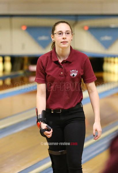 Jackie Vincent led the girls with a 529, Friday, Jan. 25.