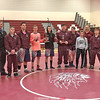 The winning Odessa-Montour/Watkins Glen team has a photo taken after the tournament, Saturday, Jan. 5. Photo Provided