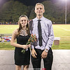 The homecoming court included Shania Austin and Paden Grover