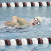 Emilee Chaffinch swims in the 200 Freestyle, Wednesday, Oct. 16 at Odessa.